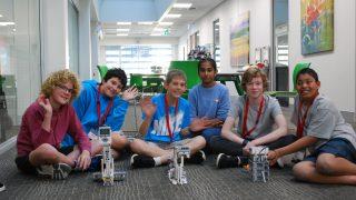 Firetech Teen Robotics Workshop ECU Engineering Lego Mindstorms