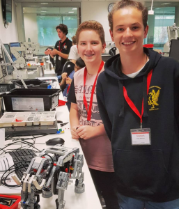 Firetech Teen Robotics Workshop Lego Mindstorms ECU Engineering