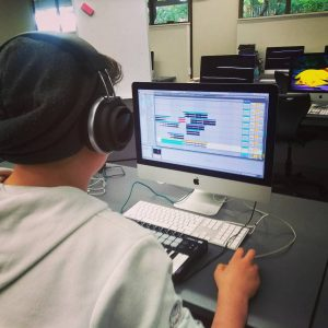 Firetech Digital Music for Teens Holiday Workshop Ableton LIVE and MIDI Keyboards
