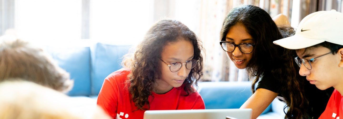 PHOTO: IN-PERSON TECH COURSES FOR KIDS